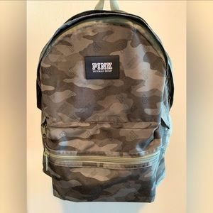 Pink by Victoria's Secret Camo backpack!